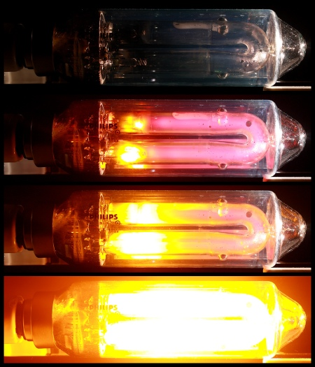 Philips SOX-E 18 W - séquence de préchauffage